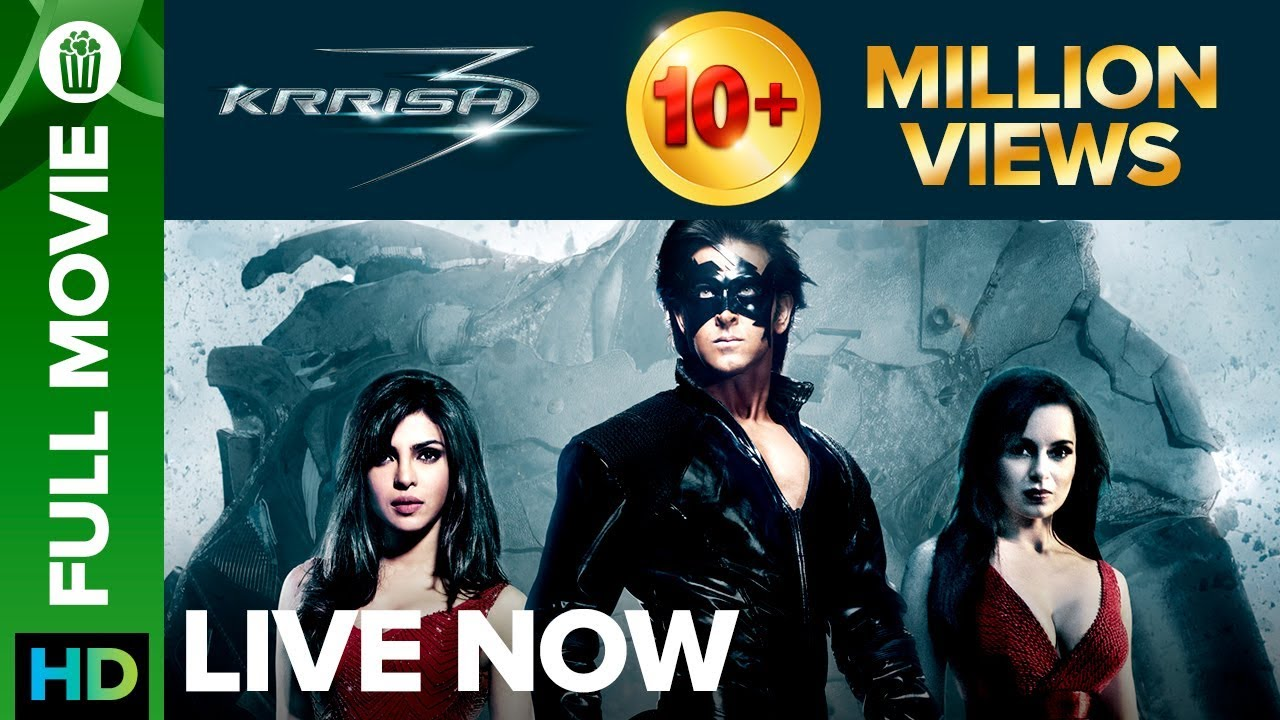 Embedded thumbnail for Krish 3 Full Movies